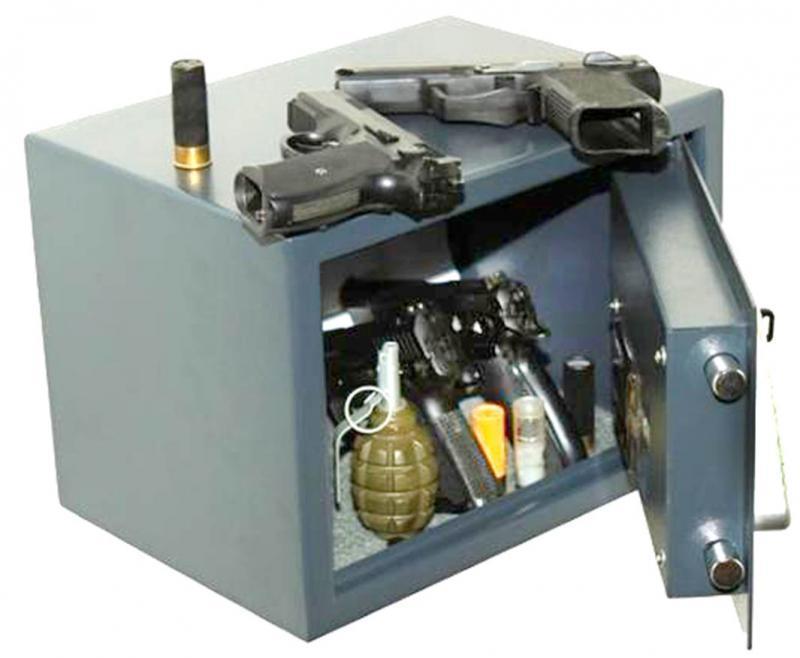 Пистолетные шкафы сейфы