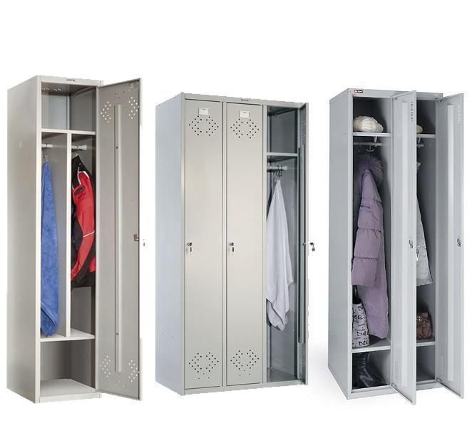 Преимущества металлического гардеробного шкафа