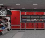 Металлическая мебель для гаража