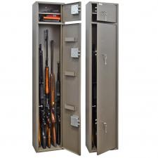 Оружейный  металлический сейф шкаф Д-7 купить по низкой цене в СПб, скидки, акции , дешево, недорого