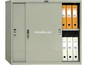 Архивный металлический шкаф-купе для документов ПРАКТИК AMT 0891
