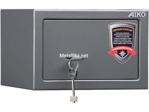 Пистолетный  металлический сейф шкаф AIKO TT-170  купить по низкой цене в СПб, скидки, акции , дешево, недорого