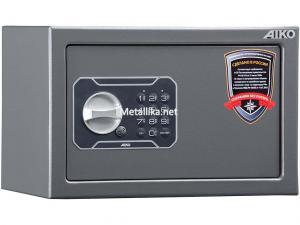 Пистолетный  металлический сейф шкаф AIKO TT-170 EL купить по низкой цене в СПб, скидки, акции , дешево, недорого