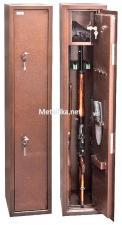 Оружейный  металлический сейф шкаф КО-035т купить по низкой цене в СПб, скидки, акции , дешево, недорого