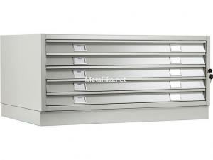 Шкаф - картотека металлический ПРАКТИК A0-05/1 (НИЗ) купить недорого в СПб