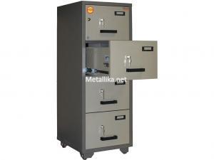 шкаф-картотека металлический  VALBERG FC 4К-KK купить недорого в спб
