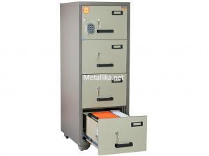 шкаф металлический картотечный VALBERG FC 4E-KK купить дешево в спб