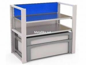 Система хранения из металла MODUL 1х1000 №6 купить в спб недорого со скидками