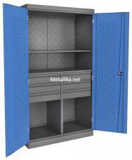 Металлический Шкаф инструментальный PROFFI ПкЯ6/П1 со скидкаой по низкой цене в спб