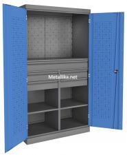 Металлический Шкаф инструментальный PROFFI ПкЯ4П2/Я1П1 по низкой цене Скидки