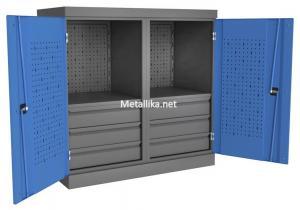 Шкаф-Антресоль инструментальная PROFFI ПЯ6П2 из металла купить дешево в спб