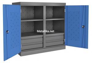 Шкаф-Антресоль инструментальная PROFFI ПЯ4П4 металлический  купить со скидками дешево