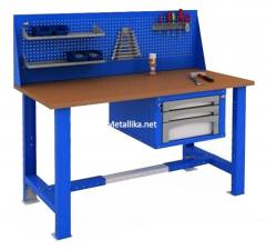 Стол металлический рабочий WOKER WTS 1500 №2 купить дешево