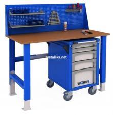 Стол металлический рабочий WTSR 1500 №2  купить дешево