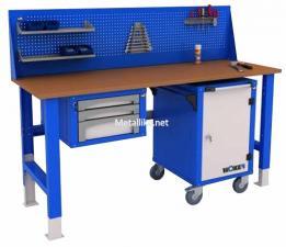 Стол металлический рабочий WTSR 2000 №2