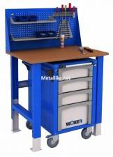 Стол металлический рабочий WTSR 1000 №2