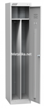 Шкаф металлический для одежды гардеробныйШРК 21-400 дешево