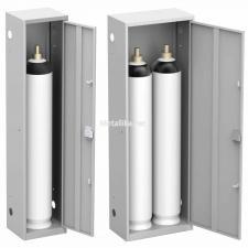Металлический Шкаф для  баллонов газовых ШГР-40  купить по невысокой цене
