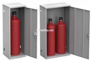 Металлический Шкаф для газовых  баллонов ШГР-50 купить недорого
