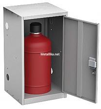 Металлический Шкаф для  баллонов газовых ШГР-27-1  купить дешево в СПб