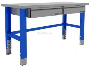 Металлический стол рабочий  Верстакофф ® «PROFFI» 1500 купить недорого