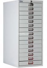 Шкаф металлический многоящичный  ПРАКТИК  MDC-A3/910/15 купить дешево в СПб