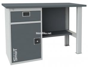 металлический слесарный верстак SMART 1280.1-1.S1.0 купить недорого