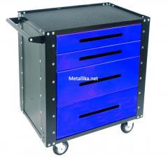 Тележка инструментальная Gt4.blue / red / yell / металлическая купить недорого в спб