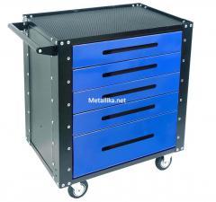 Тележка инструментальная металлическая Gt5.blue / red / yell / купить в спб со скидками недорого