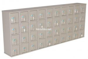 Шкаф металлический с ячейками для телефонов ЯТ-3 купить дешево в СПб