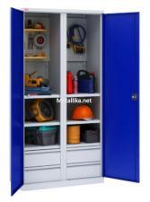 Купить недорого шкаф металлический для инструментов  ИП-2/2 Пакс металл