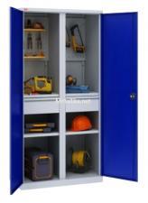 Шкаф металлический для инструментов  ИП-2/1 Пакс