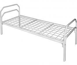 Кровать медицинская металлическая М180-01
