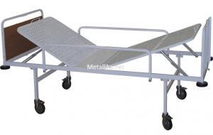 Кровать медицинская металлическая  М182-01 купить дешево в спб