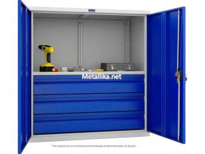 Металлический Шкаф инструментальный ТС 1095-001030 купить недорого