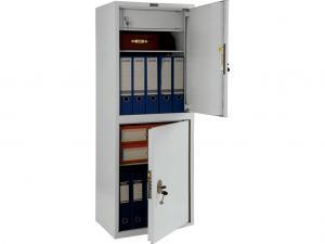 Металлический офисный шкаф с трейзером ПРАКТИК SL-125/2Т дешево
