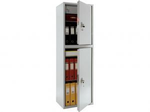 шкаф металлический офисный ПРАКТИК SL-150/2Т дешево