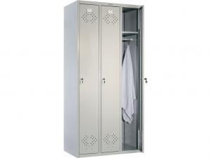 Шкаф гардеробный металлический для одежды LS-31 дешево
