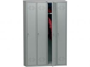Шкаф гардеробный металлический для одежды LS-41  дешево