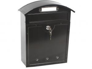 Почтовый ящик LT-02 BLACK металлический купить в спб недорого