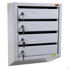 Металлический  Почтовый ящик ПМ-4 купить недорого в спб