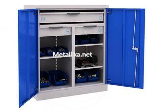 Металлический Шкаф инструментальный ERGO 181/2 №12 купить со скидками в спб
