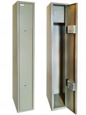 Оружейный  металлический сейф шкаф Д-2 купить по низкой цене в СПб, скидки, акции , дешево, недорого