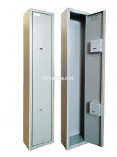 Оружейный  металлический сейф шкаф Д-3 купить по низкой цене в СПб, скидки, акции , дешево, недорого