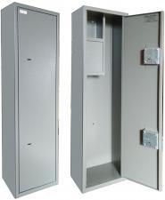Оружейный  металлический сейф шкаф Д-5 купить по низкой цене в СПб, скидки, акции , дешево, недорого