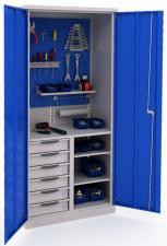 Шкаф инструментальный ERGO 181 №7 металлический купить в санкт-петербурге со скидками