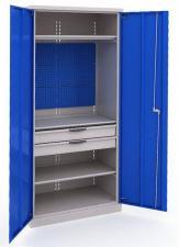 Шкаф инструментальный ERGO 181 №4 металлический недорого