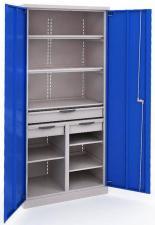 Купить Шкаф инструментальный ERGO 181 №9 металлический в спб скидки