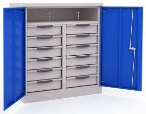 Шкаф инструментальный ERGO 181/2 №9 металлический дешево со скидкой