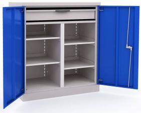 Шкаф инструментальный ERGO 181/2 №11 металлический купить недорого в санкт-петербурге